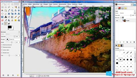 Снимка на екрана GIMP за Windows 8.1