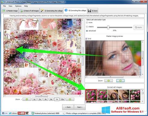 Снимка на екрана Photo Collage за Windows 8.1