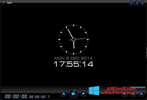 Снимка на екрана Daum PotPlayer за Windows 8.1