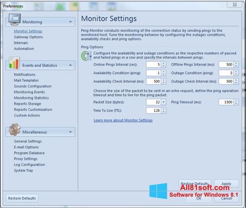 Снимка на екрана QIP за Windows 8.1