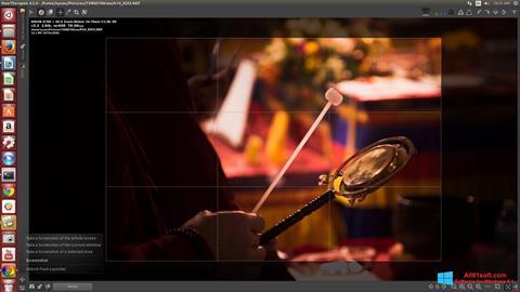 Снимка на екрана RawTherapee за Windows 8.1