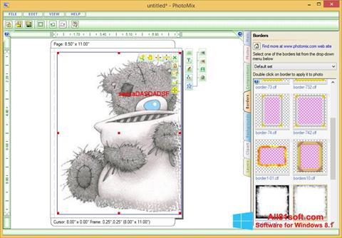 Снимка на екрана PhotoMix Collage за Windows 8.1